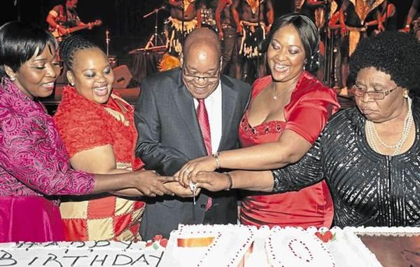 Четвертая жена президента ЮАР. Исторические фотографии