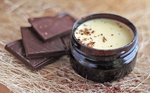 Как самой сделать шоколадный блеск для губ